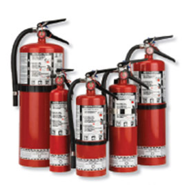 Dry Chemical Fire Extinguishers